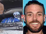 Body of man, 34, who frequented California motels, found wrapped in a tarp in trunk of abandoned car