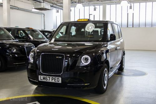 Electric taxis could be charged wirelessly in future, UK trial underway
