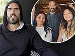 British comedian Russell Brand is 'stranded' in regional NSW due to COVID-19