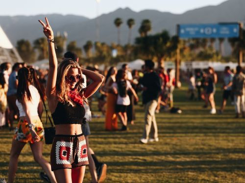Coachella just released its 2020 lineup. Take a look inside the festival's most expensive campground, where people pay up to $25,000 to sleep in yurts and be driven around by personal golf carts