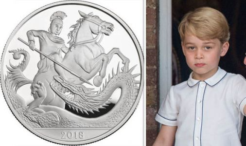 Prince George birthday: New £5 coin released as Prince George turns five