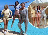 Charlotte Crosby, Jacqueline Jossa and Billie Faiers jet out to Ibiza for a luxury photoshoot