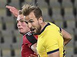 Shkendija 1-3 Tottenham: Son and Kane strike late on as Spurs book home play-off against Maccabi