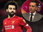 Gary Neville believes Mohamed Salah is using Liverpool as a 'stepping stone'
