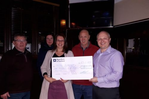 Group of fundraisers hold bash in West Lothian hotel for charity