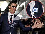 Cristiano Ronaldo goes old school with 2005 iPod as Juventus star arrives in style for Serie A clash