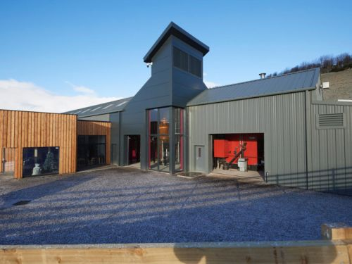 Fire breaks out at Highland gin and whisky distillery