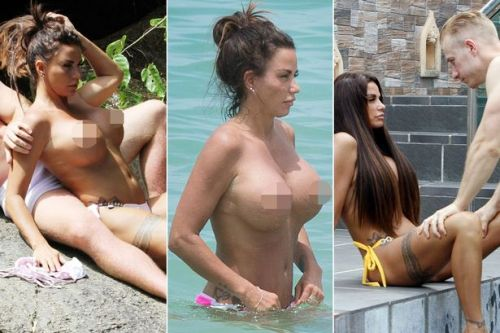 Katie Price's 'romantic' holiday exposed as desperate bid for cold hard cash as she shills naked pictures for money
