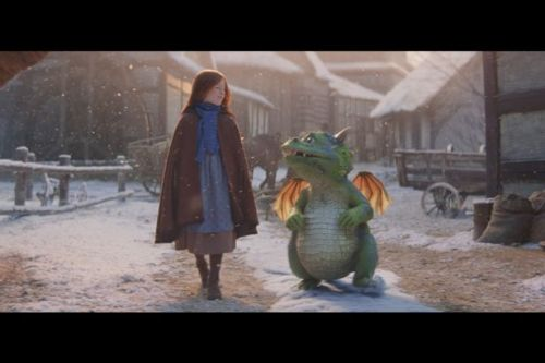 John Lewis unveils heart-warming Christmas advert with adorable dragon Excitable Edgar