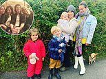Sir Mick's daughter Jade enjoys a staycation with her daugher Assisi and their children