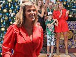 I'm A Celebrity: Kate Garraway, 52, shows off her jungle weight loss in a scarlet playsuit