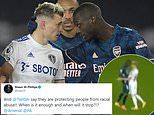Arsenal and Leeds condemn 'vile abuse' online directed at Nicolas Pepe and Ezgjan Alioski