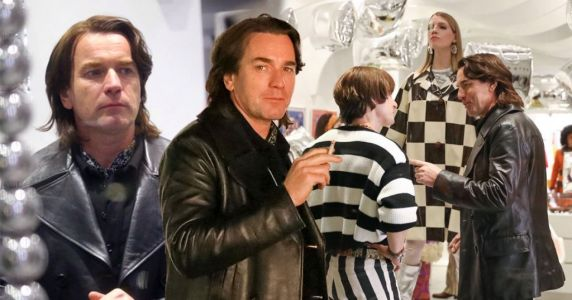 Ewan McGregor gets into character as fashion designer Halston as filming begins for new Netflix series