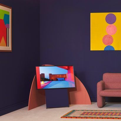 Samsung launches collection of paint to complement its TVs