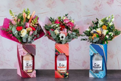 Edinburgh Gin creates sweet floral bouquets just in time for Valentine's Day