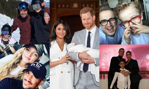 The sweetest celebrity dad moments to celebrate Father's Day
