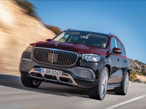Mercedes-Benz has a new $160,500 ultra-luxurious Maybach SUV that comes with reclining rear seats and other extreme passenger comforts