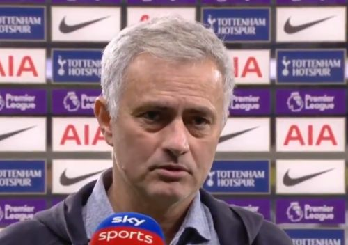 Jose Mourinho rates Tottenham's title chances after Manchester City win