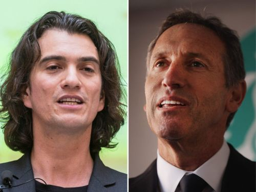 Former Starbucks CEO Howard Schultz once reportedly advised Adam Neumann to stop growing WeWork so quickly and fix its problems. Neumann responded 'F-- that.'