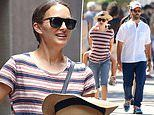 Natalie Portman is every inch the doting mother while out in Sydney with her family