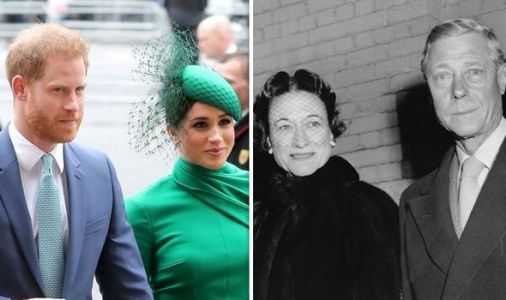 New biography may show how Harry and Meghan could follow Edward and Wallis claims expert