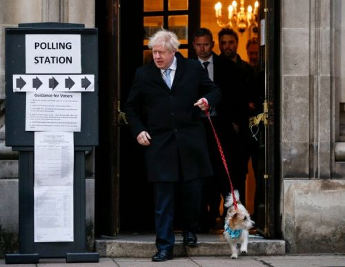 General Election 2019: Boris Johnson Kicked Off Polling Day. By Not Voting For Himself