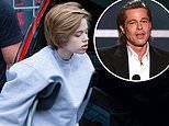 Brad Pitt threw a pizza party for daughter Shiloh's birthday which saw him reunite with ALL his kids