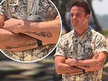 Ant McPartlin shows off new 'rose' and 'arrow' tattoos
