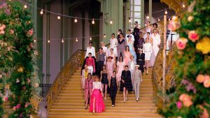 Chanel SS21 Haute Couture: ruffles, sequins and a horse-riding Princess Bride