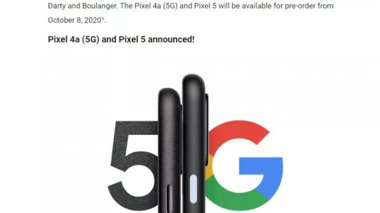 The Pixel 5 and 4a 5G May Arrive in Early October