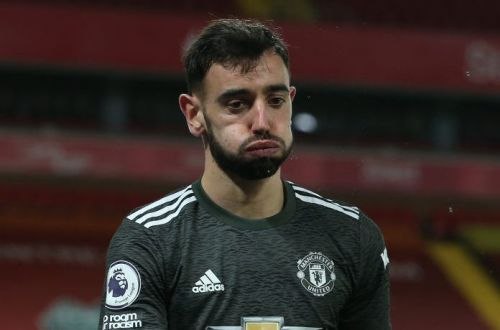 Ole Gunnar Solskjaer defends Bruno Fernandes after Manchester United's draw with Liverpool