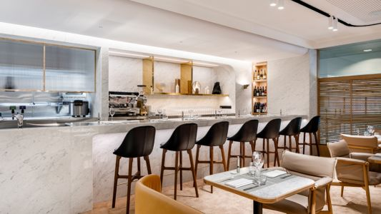 First look: Inside Qantas' new First Lounge at Singapore Changi airport
