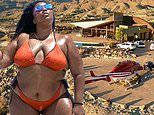 Inside Lizzo's Palm Springs villa: $5,000-a-night abode boasts a helicopter pad and infinity pool