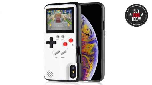 Buy this today: an iPhone case that's also a retro handheld game console