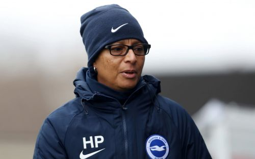 At home with Hope Powell: Brighton manager on coaching from her kitchen during lockdown