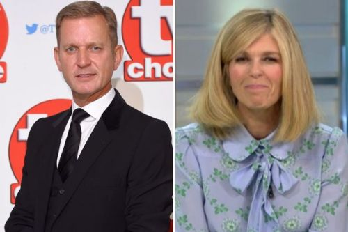 Kate Garraway thanks Jeremy Kyle for stepping in to help her children