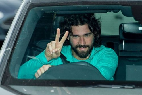 Alisson appears to drop hint on his fitness ahead of Liverpool vs Arsenal