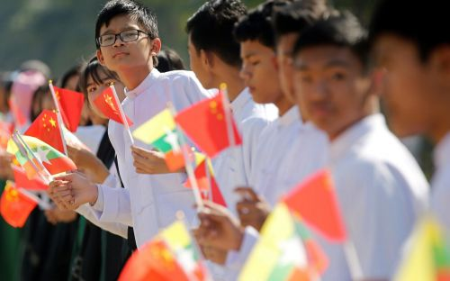 China's Xi Jinping visits Burma in boost for Aung San Suu Kyi ahead of genocide ruling