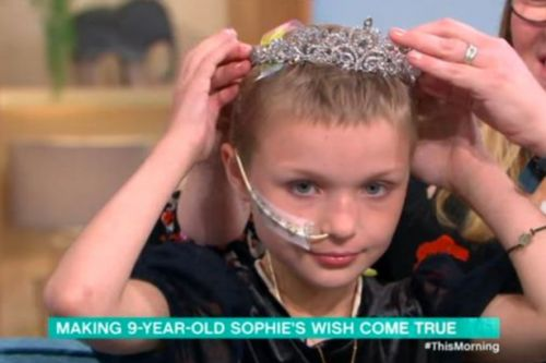This Morning's 10-year-old guest Sophie Fairall dies after 'bucket list' visit to studio