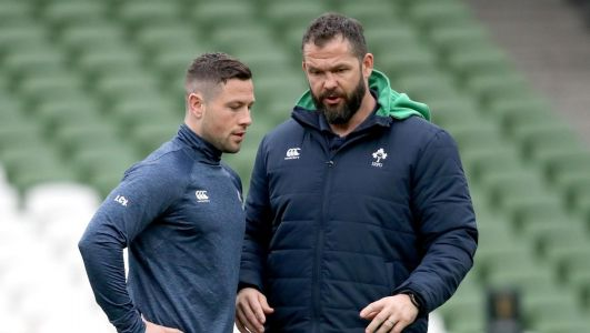 John Cooney drafted into Ireland squad ahead of Six Nations Super Saturday as Jamison Gibson Park an injury worry