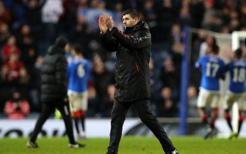 Steven Gerrard signs Rangers contract extension after reaching Europa League knock-out stage