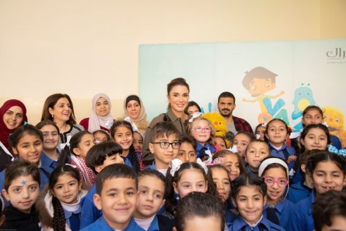 A look at the Queen Rania Foundation for Education and Development