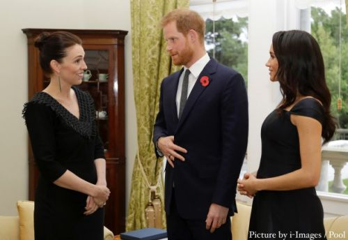Duchess of Sussex hosts New Zealand Prime Minister Jacinda Ardern in private meeting