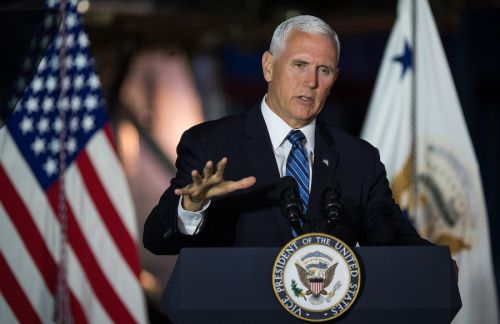 Pence plans to attend launch of astronauts from Florida next week