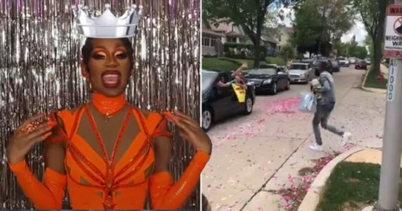 RuPaul's Drag Race season 12 winner Jaida Essence Hall floored by shock drive-by as fans shower superstar with giftbags