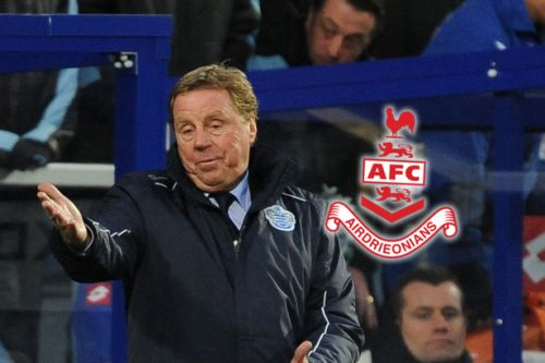 Airdrie director speaks out as he reveals Harry Redknapp contact