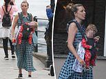 Carrie Symonds attracts criticism from parents forwearing baby Wilfred's sling 'wrong'