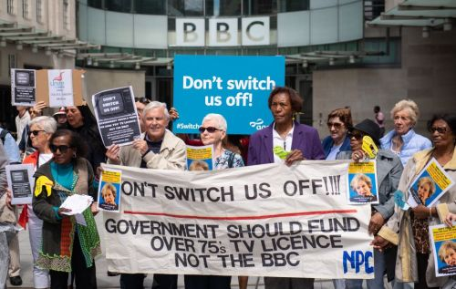 All over-60s urged to cancel BBC licence fee direct debits as over-75s sent letter demanding £157.50 sent out today