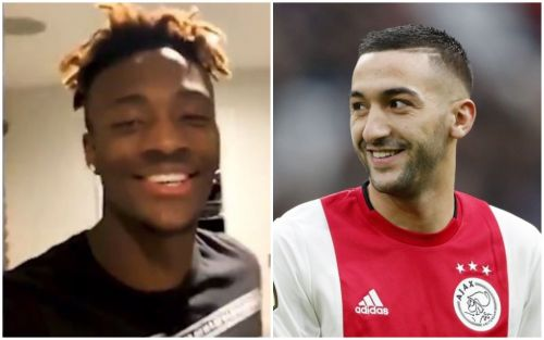 Tammy Abraham sends message to Hakim Ziyech over Chelsea transfer