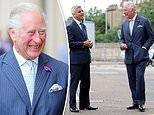 Prince Charles thanks underground workers for keeping tube services running